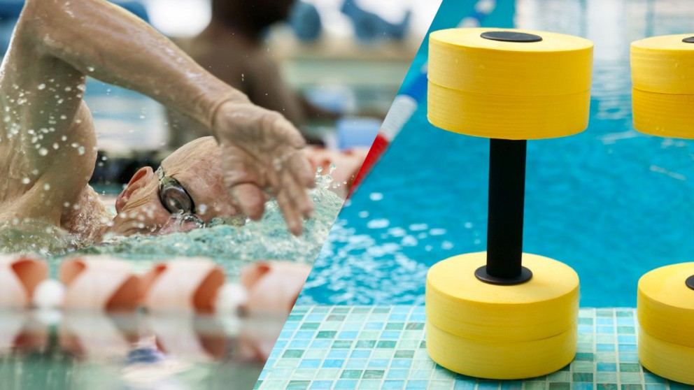 Nuoto e aquagym per over 60
